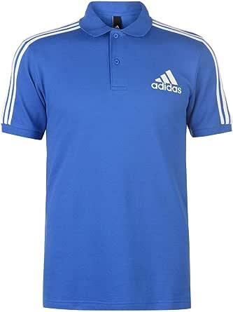 adidas Men's 3-Streifen Logo Poloshirt Men's Polo Shirt