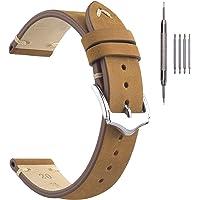 Cinturini per Orologi in Pelle, Cinturini in Vera Pelle EACHE Autentici Cinturini per Orologi Vintage Uomo Donna 18mm…