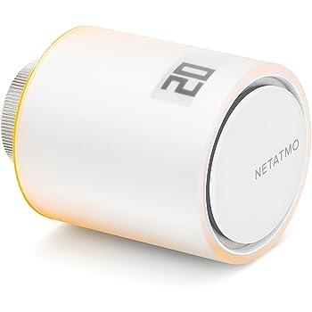 Netatmo NAV-IT Valvola Intelligente Aggiuntiva per Termosifoni, Multicolore