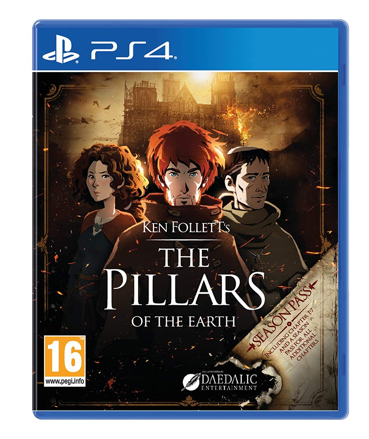 Giochi per Console Kalypso Ken Follett's The Pillars of the Earth
