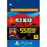 55 Lingotti d'Oro in Red Dead Online - 55 Lingotti d'Oro DLC | Codice di download PS4 - Account IT