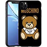 EpbyM This Is Not A Moschimo Toy Custodia iPhone 11 PRO Max, Moschimo Cover iPhone 11 PRO Max, Bianco TPU Morbido Silicone Cu