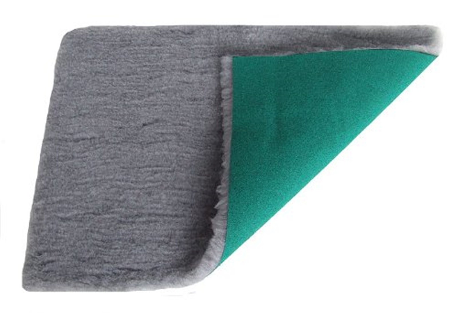 PnH Veterinary Bedding ® – Vet Bed Rectangle 76cm x 50cm – Grey – READY TO USE, SELVAGE EDGE REMOVED.
