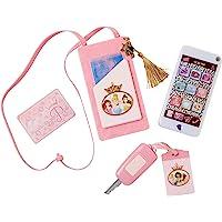 Disney Princess 98879-PLY Style Collection Sac à main et téléphone de jeu Rose