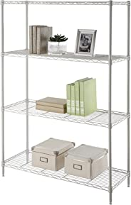 Camel Tough Wire Rack, 4 Shelf - HTC-WR603, White, 91 x 35 x 135 cm