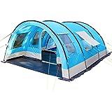 SKANDIKA Helsinki - Tente de Camping familiale Tunnel - 525 x 410 cm - 6 Personnes