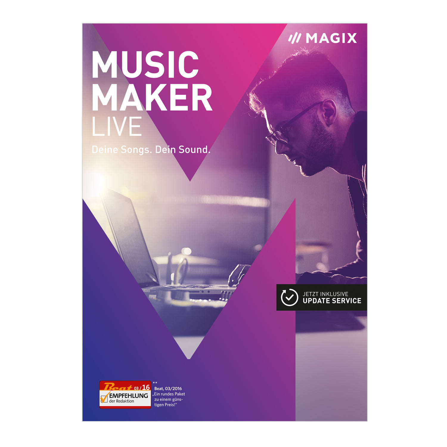Music Maker – 2017 Live Edition – Musik machen mit Loops [Download]