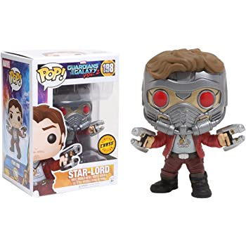 Funko - Figurine Guardians Of the Galaxy 2 - Star-Lord Chase Exclu Pop 10cm - 0745559264489
