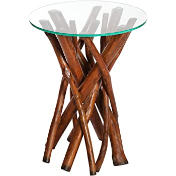 Dunord design beistelltisch couchtisch algarve treibholz for Design couchtisch nature lounge teakholz mit runder glasplatte beistelltisch