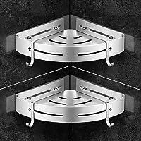 Scaffale per bagno Filo per filo Scaffale angolare per bagno in metallo Ripostiglio aperto Ripiano in piedi Piccolo ripiano con cesto per biancheria rimovibile Cassapanca Porta asciugamani 36L