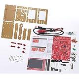 KKmoon Digitales Oszilloskop Kit DSO138 2.4 Zoll TFT Handheld Taschenformat SMD Gelötet + Acryl DIY Gehäuse Cover Schale für DSO138