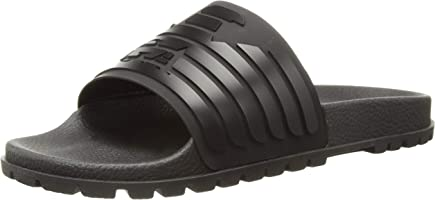 Emporio Armani Men's Open Toe Logo Sandal Slipper