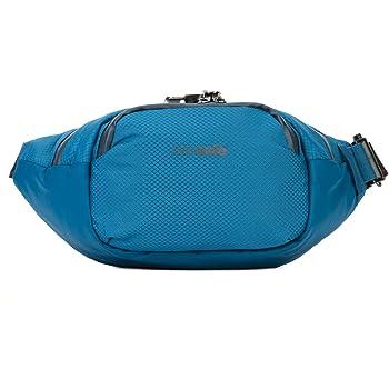 Pacsafe Venturesafe X Waistpack Anti-Diebstahl Gürteltasche, Diebstahlschutz Hüfttasche, Hipbag - Blau/Blue Steel