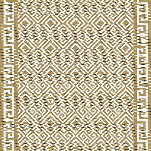 Farbe : 4017-1 Greek Ornamente schwarz Weichschaummatte ...