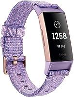 Fitbit Gelişmiş Akıllı Sağlık ve Fitness Bilekliği Charge 3, Unisex, Lavanta, Tek Beden