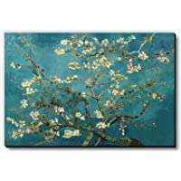 Turquoise Almond by Vincent Van Gogh Fridge Magnet/Multipurpose Magnet for Home/Kitchen/Office by Seven Rays