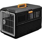 Iris 531149, Opvouwbare Transportbox Voor Honden En Katten FC-670, Kunststof, Zwart, 68,6 x 40,3 x 47,8 cm