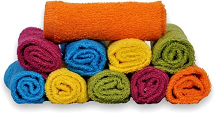 S Kumars Love Touch Cotton Face Towel - Multi