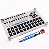 33 Switches Switch Tester Opener Lube Modding Station DIY Cover Removal Platform för Cherry Kailh Gateron Mechanical Keyboard