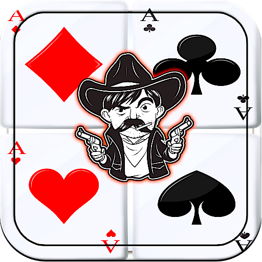 Cowboy Rangers Solitaire Billy The Kid Shooter Solitaire HD for Kindle Free Card Games Easy Solitaire 2015 New Offline Jackpot Multiple Cards