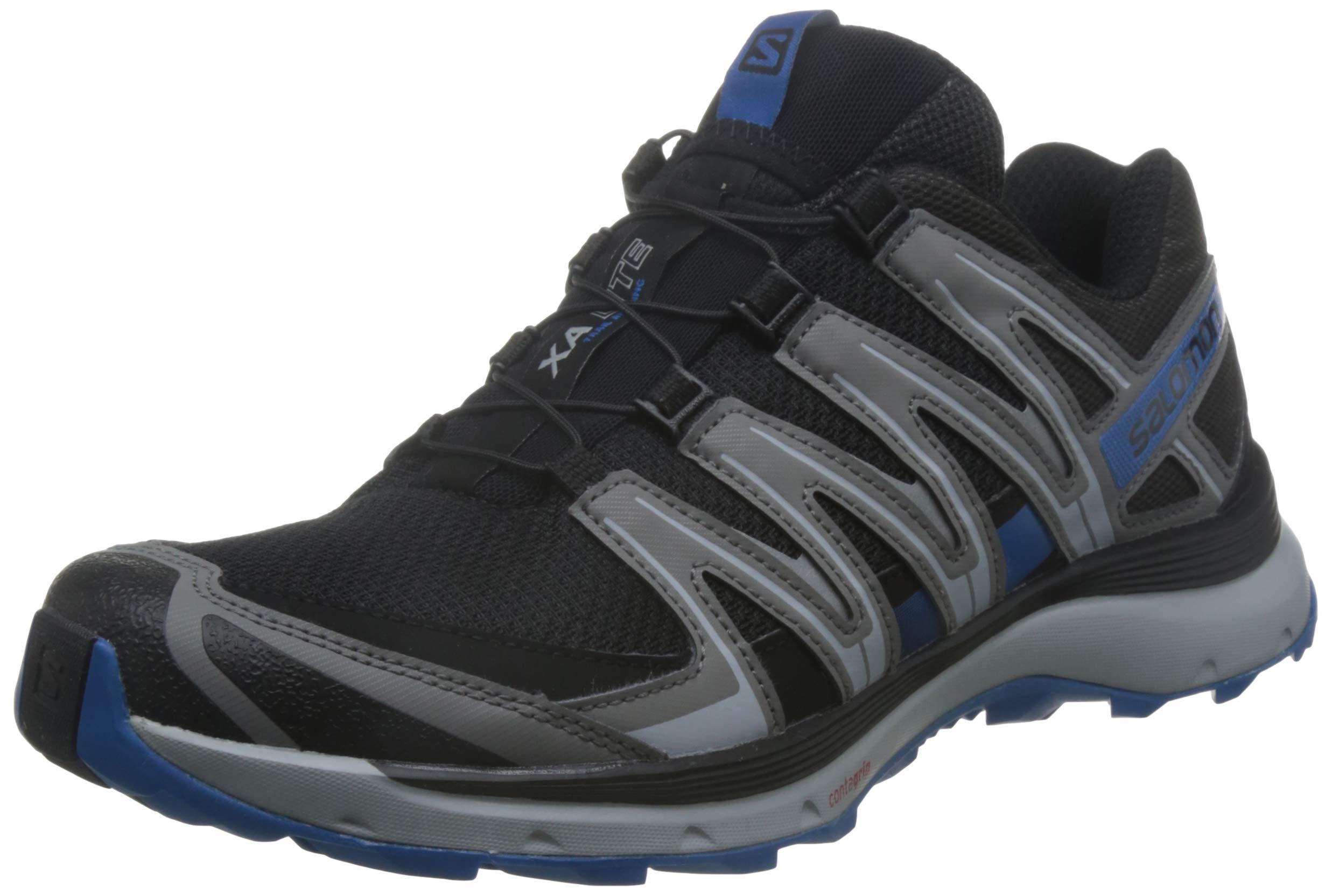 Salomon Herren Xa Lite Trailrunning-Schuhe, Schwarz/Blau (black/quiet shade/impe