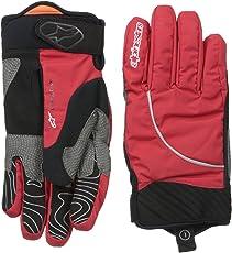 Alpinestars Men s Nimbus Waterproof Gloves Red/White Large