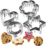 Blazing Star Cookie Cutter Set Combo Metal Stainless Steel Mould Design Baking Accessories and Tools Essential Material Large