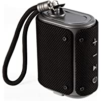 boAt Stone Grenade 5W Portable Wireless Speaker with Multiple Connectivity Modes, Up to 7H Playback, IPX6 Water & Splash Resistance and Rugged Shock Resistant Design (Charcoal Black)