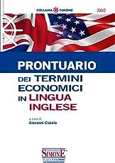 Prontuario dei termini economici in lingua inglese