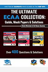 The Ultimate ECAA Collection: 3 Books In One, Over 500 Practice Questions & Solutions, Includes 2 Mock Papers, Detailed Essay Plans, 2019 Edition, Economics Admissions Assessment, UniAdmissions Paperback