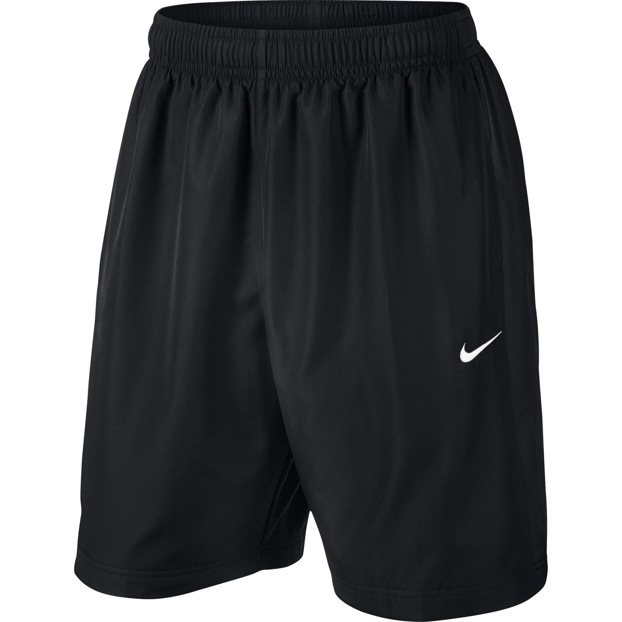 Nike Season Short 26 Cm Pantaloncini, Nero/Bianco, XXL