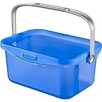 CURVER | Boite à couvercle Multiboxx 3L, Bleu translucide, Clear box, 25,7x17,7x11,3 cm