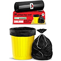 Shalimar Premium OXO - Biodegradable Garbage Bags 17 X 19 Inches (Small) 120 Bags (4 rolls) Dustbin Bag/Trash Bag…