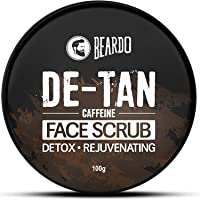 Beardo DeTan Face Scrub for Men | Coffee Scrub for Blackhead, Tan & Dead Cell Removal | Natural Glow | Rejuvenates Skin…