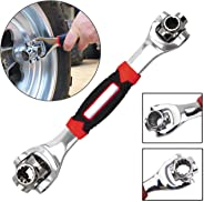 Ngel Wrench 6-Point Universal Furniture Car Repair Hand Tool with Spline Bolts Revolving Spanner (1 Pcs)