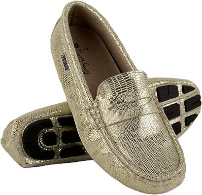 Zerimar Mokassins Damen Leder | Mokassins für Damen | Schuhe Mokassin Damen | Damen Klasische Mokassins | Loafers Mokassins | Loafers Mokassins Damen