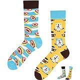 TODO COLOURS Casual Mix - Calcetines divertidos - Donut cielo - multicolor, diseño multicolor