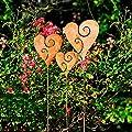 Gärtner Pötschke Gartenstecker Herzen, 3er-Set von Gärtner Pötschke auf Du und dein Garten