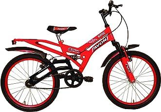 Avon EPIC Single Speed Steel Cycle, 20-inch (Red/Black, 09BCCBKDAV106780)