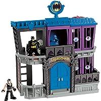 Imaginext DC Super Friends coffret Prison de Gotham avec figurines Batman et Bane, jouet pour enfant de 3 à 8 ans, W9642