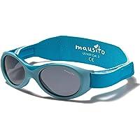 Mausito® Baby, occhiali da sole da 0 – 1,5 anni, per ragazzi e ragazze, occhiali da sole pieghevoli, 100% protezione…