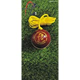 APG String Leather Cricket Balls – Develop Hand-Eye Coordination Skills (Pack of 1 Ball) - Made in India