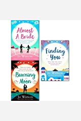 almost a bride, burning moon and finding you 3 books collection set - the funniest rom-com you'll read this year!, a romantic read that will have you in fits of giggles, a gorgeous read full of laughter and love to escape the winter blues Paperback