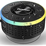 Cassa Bluetooth, IP7 Impermeabile Portable Speaker Doccia, Speaker Wireless Bluetooth 5.0 con HD MIC Supporto Radio FM, Cassa