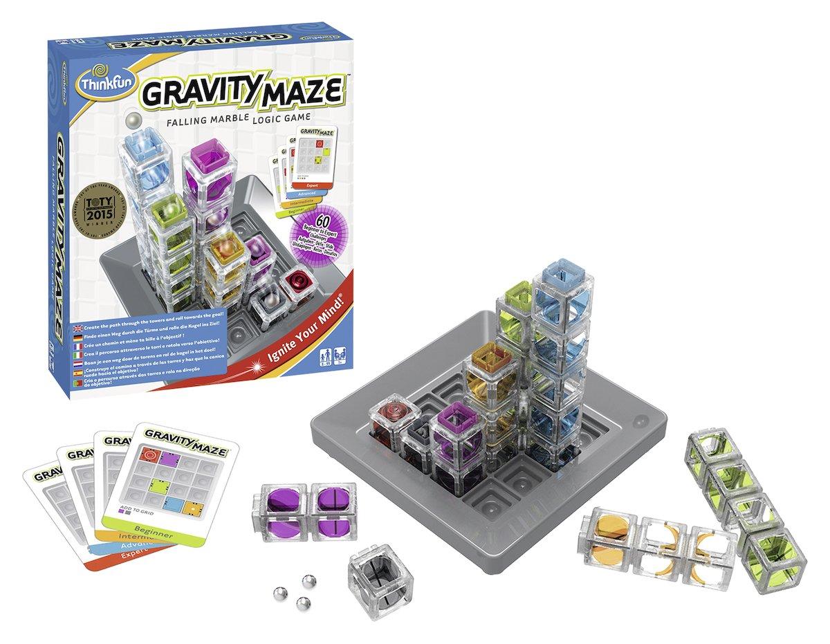 Ravensburger-76339-ThinkFun-Gravity-Maze-Spiel-Smart-Game
