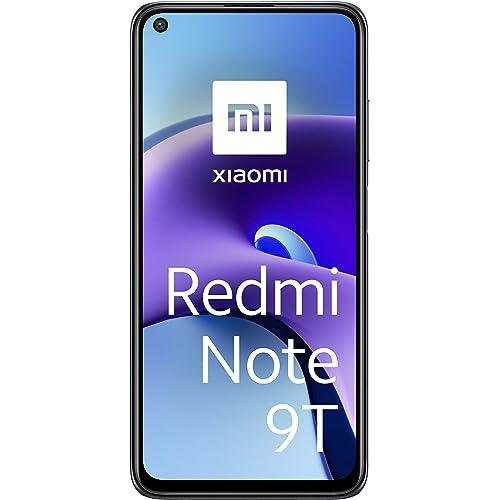 """Xiaomi Redmi Note 9T 5G Smartphone, 4GB+128GB, 6,53"""" FHD+ DotDisplay 90Hz, MediaTek Dimensity 800U, 48MP Triple Camera, 5000mAh, NFC, Nightfall Black"""