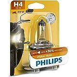 Philips 12342PRBW Vision Moto H4 Koplamp voor motorfiets, blister per stuk