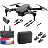 S70 Pro WiFi FPV Drone för vuxna barn - Vikbar GPS FPV Drone med 1080P 4K HD-kamera Live Video för nybörjare, RC Quadcopter m