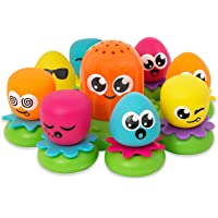 TOMY Toomies Octopals Number Sorting Baby Bath Toy | Educational Water Toys For Toddlers | Suitable For 1, 2 & 3 Years…