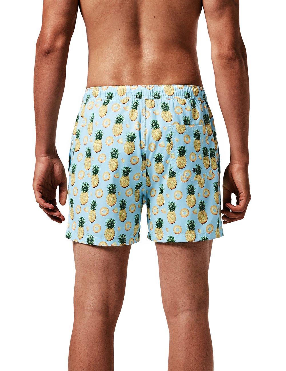 MaaMgic Uomo Costume da Bagno Nuoto Calzoncini Asciugatura Veloce per Spiaggia Mare Piscina 14 spesavip